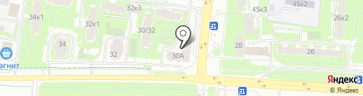 Ателье напольных покрытий на карте Великого Новгорода