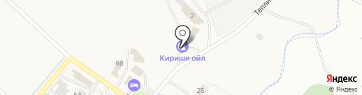 АЗС Новгородская топливная компания на карте Григорово