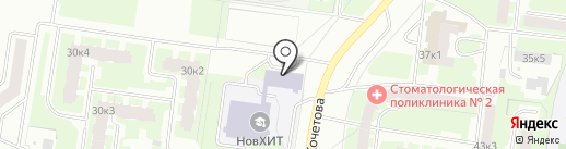 НовХИТ на карте Великого Новгорода
