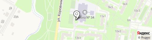 Центр детской книги на карте Великого Новгорода