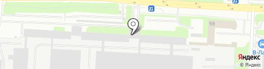 НБМ на карте Великого Новгорода