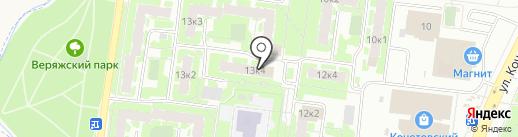 Управляющая компания №6 на карте Великого Новгорода