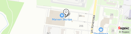 Центр Суши на карте Великого Новгорода