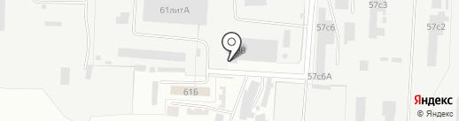 НСК Новстройбетонсервис на карте Великого Новгорода