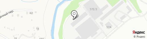 Теплая территория на карте Великого Новгорода
