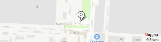 АТИ на карте Великого Новгорода