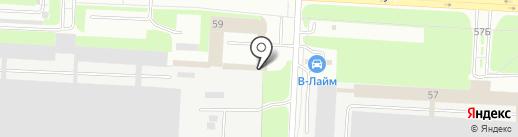 Шиномонтажная мастерская на карте Великого Новгорода