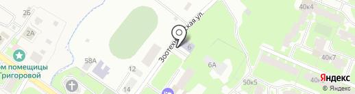 Григоровская основная общеобразовательная школа на карте Великого Новгорода
