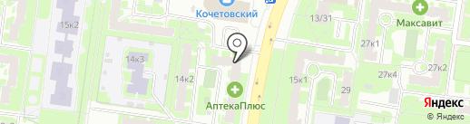 Варница на карте Великого Новгорода