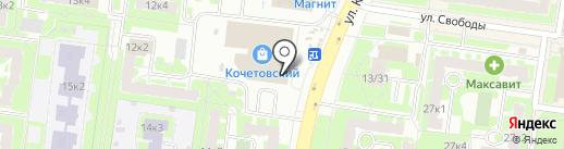 Сотовик-Н на карте Великого Новгорода