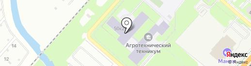 НАТ на карте Великого Новгорода