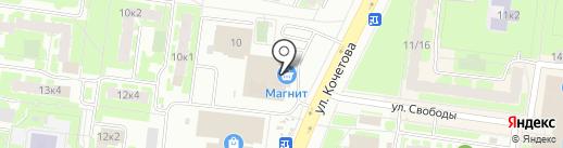 Багетная мастерская на карте Великого Новгорода