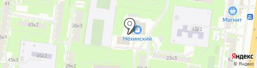 Польза на карте Великого Новгорода