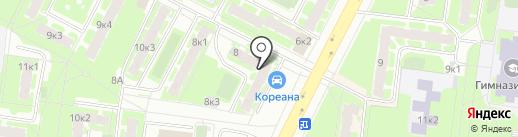 Мак на карте Великого Новгорода