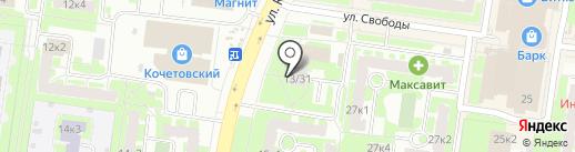 Brow BAR & MAKE-UP butik на карте Великого Новгорода