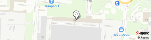 606949 на карте Великого Новгорода