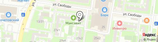 Центр Недвижимости на карте Великого Новгорода