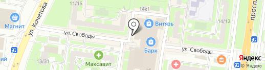 BrendDi на карте Великого Новгорода