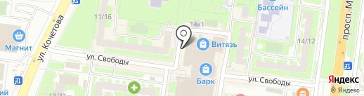 13 район на карте Великого Новгорода
