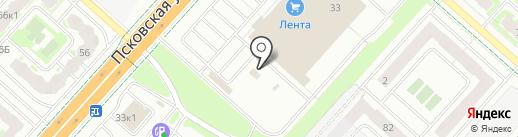 MIFORT Service на карте Великого Новгорода
