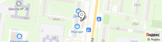 Магазин сумок на карте Великого Новгорода