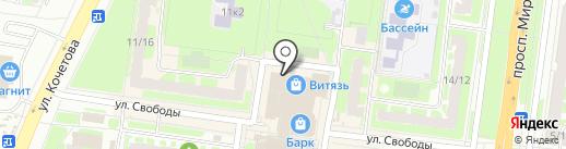 TREND на карте Великого Новгорода