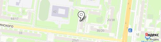 Пятница на карте Великого Новгорода