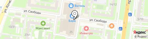 Вандам на карте Великого Новгорода
