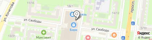 MOBSTORE на карте Великого Новгорода