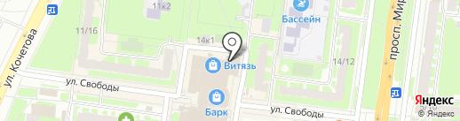 ДоброДуб на карте Великого Новгорода
