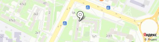 Жасмин на карте Великого Новгорода