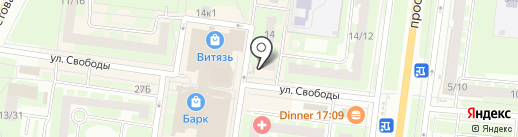 РосДеньги на карте Великого Новгорода