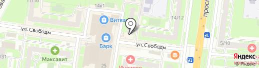 585 GOLD на карте Великого Новгорода