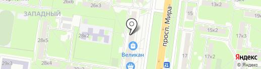 Полушка на карте Великого Новгорода