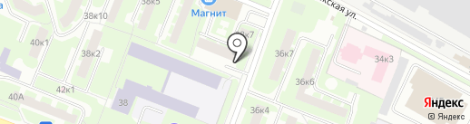Для мужчин на карте Великого Новгорода