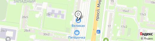 Магазин игрушек на карте Великого Новгорода
