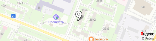 СОВА на карте Великого Новгорода