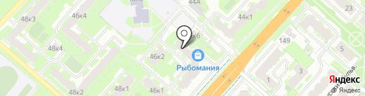 Храбрый портной на карте Великого Новгорода