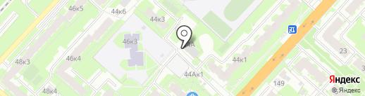 Котейня на карте Великого Новгорода