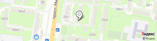 Жигули на карте Великого Новгорода
