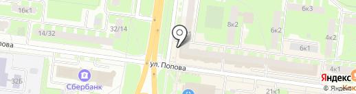 За углом у дядьки на карте Великого Новгорода