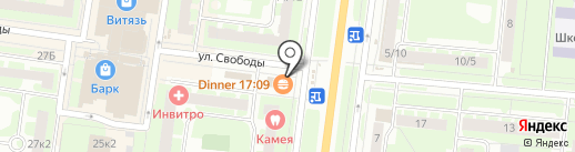 Novsvin на карте Великого Новгорода