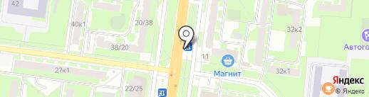 ЦветНовТорг на карте Великого Новгорода