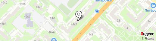 Прованс на карте Великого Новгорода