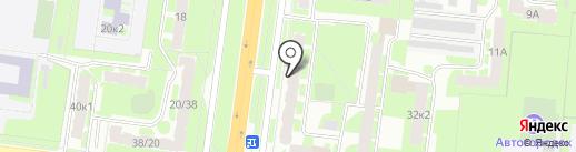 Швейное ателье на карте Великого Новгорода