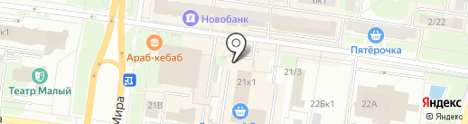 Новгородхлеб на карте Великого Новгорода