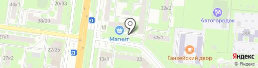 MINIBAR на карте Великого Новгорода