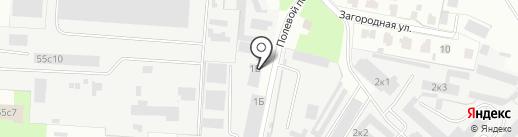 Сеть магазинов свежей выпечки на карте Великого Новгорода