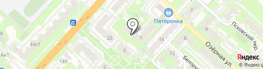 АГРИС на карте Великого Новгорода