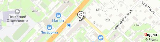 Росгосстрах банк, ПАО на карте Великого Новгорода